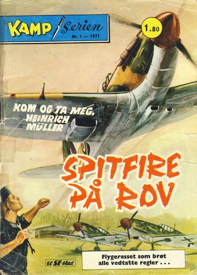 Cover for Kamp-serien (Serieforlaget / Se-Bladene / Stabenfeldt, 1964 series) #1/1971