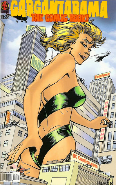 Cover for FemForce (AC, 1985 series) #155