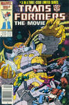 Cover for Transformers: The Movie (Marvel, 1986 series) #3 [Newsstand Edition]