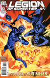 Cover for Legion of Super-Heroes (DC, 2010 series) #13 [Direct Sales]
