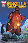Cover Thumbnail for Godzilla: Kingdom of Monsters (2011 series) #2 [Second Printing?]