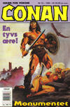 Cover for Conan (Bladkompaniet / Schibsted, 1990 series) #10/1994