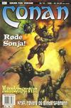 Cover for Conan (Bladkompaniet / Schibsted, 1990 series) #10/1998