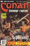 Cover for Conan (Bladkompaniet / Schibsted, 1990 series) #13/1999