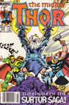 Cover for Thor (Marvel, 1966 series) #353 [Newsstand]