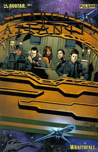 Cover Thumbnail for Stargate Atlantis: Wraithfall (Avatar Press, 2005 series) #3 [Platinum Foil]