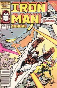 Cover Thumbnail for Iron Man Annual (Marvel, 1976 series) #8 [Newsstand Edition]