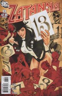 Cover Thumbnail for Zatanna (DC, 2010 series) #13
