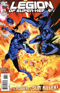 Cover Thumbnail for Legion of Super-Heroes (DC, 2010 series) #13 [Direct Sales]