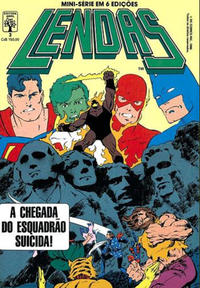 Cover Thumbnail for Lendas (Editora Abril, 1988 series) #3