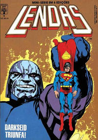Cover Thumbnail for Lendas (Editora Abril, 1988 series) #4