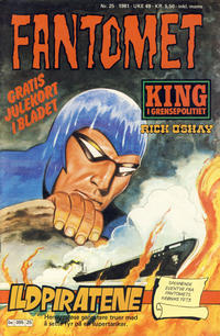 Cover Thumbnail for Fantomet (Semic, 1976 series) #25/1981