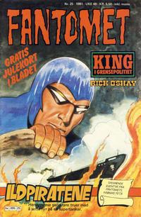 Cover Thumbnail for Fantomet (Semic, 1976 series) #25/1981
