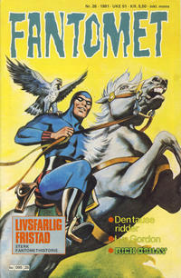 Cover Thumbnail for Fantomet (Semic, 1976 series) #26/1981