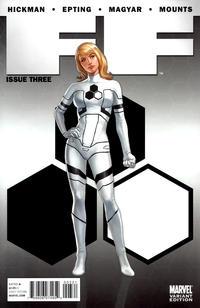 Cover Thumbnail for FF (Marvel, 2011 series) #3 [Djurdjevic]