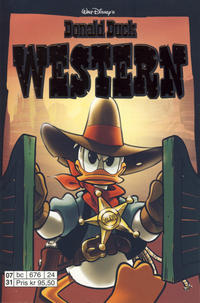 Cover Thumbnail for Donald Duck Tema pocket; Walt Disney's Tema pocket (Hjemmet / Egmont, 1997 series) #[22] - Donald Duck Western