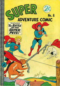 Cover Thumbnail for Super Adventure Comic (K. G. Murray, 1960 series) #8