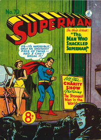 Cover Thumbnail for Superman (K. G. Murray, 1947 series) #70