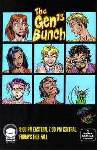 Cover Thumbnail for Gen 13 (Image, 1995 series) #1 [That's the Way We Became the GEN13 Cover 1-I]