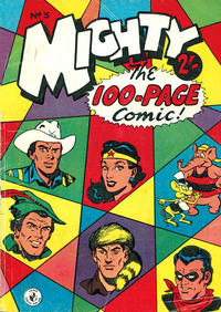 Cover Thumbnail for Mighty The 100-Page Comic! (K. G. Murray, 1957 series) #3