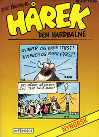 Cover Thumbnail for Hårek den hardbalne pocket (Allers Forlag, 1985 series) #103