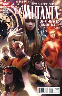Cover Thumbnail for New Mutants (Marvel, 2009 series) #25