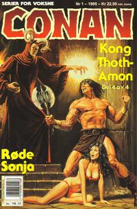 Cover Thumbnail for Conan (Bladkompaniet / Schibsted, 1990 series) #1/1995