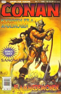 Cover Thumbnail for Conan (Bladkompaniet / Schibsted, 1990 series) #7/1995