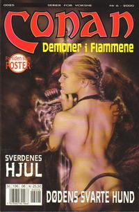 Cover Thumbnail for Conan (Bladkompaniet / Schibsted, 1990 series) #6/2000