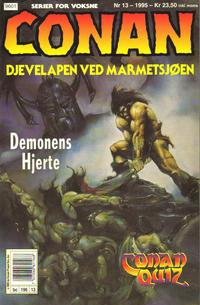 Cover Thumbnail for Conan (Bladkompaniet / Schibsted, 1990 series) #13/1995
