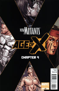 Cover Thumbnail for New Mutants (Marvel, 2009 series) #23 [Second Printing]