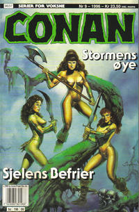 Cover Thumbnail for Conan (Bladkompaniet / Schibsted, 1990 series) #9/1996
