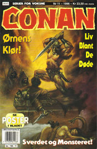 Cover Thumbnail for Conan (Bladkompaniet / Schibsted, 1990 series) #11/1996