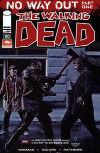 Cover for The Walking Dead (Image, 2003 series) #80 [Arizona Comic Con Variant]