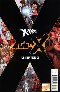 Cover Thumbnail for X-Men: Legacy (Marvel, 2008 series) #246 [Second Printing]