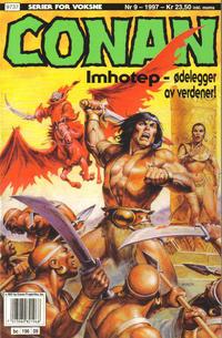 Cover Thumbnail for Conan (Bladkompaniet / Schibsted, 1990 series) #9/1997