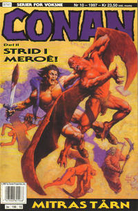 Cover Thumbnail for Conan (Bladkompaniet / Schibsted, 1990 series) #10/1997