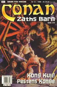 Cover Thumbnail for Conan (Bladkompaniet / Schibsted, 1990 series) #13/1998