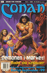Cover Thumbnail for Conan (Bladkompaniet / Schibsted, 1990 series) #9/1999