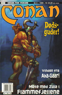 Cover Thumbnail for Conan (Bladkompaniet / Schibsted, 1990 series) #2/1999