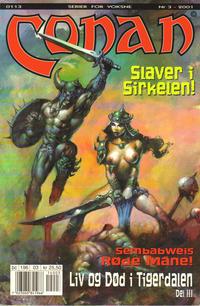 Cover Thumbnail for Conan (Bladkompaniet / Schibsted, 1990 series) #3/2001