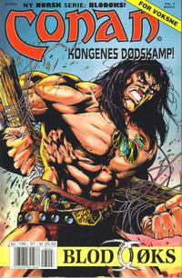 Cover Thumbnail for Conan (Bladkompaniet / Schibsted, 1990 series) #7/2001