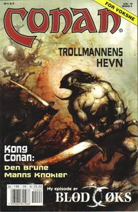 Cover Thumbnail for Conan (Bladkompaniet / Schibsted, 1990 series) #9/2001