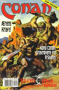 Cover Thumbnail for Conan (Bladkompaniet / Schibsted, 1990 series) #2/2002