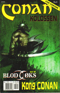 Cover Thumbnail for Conan (Bladkompaniet, 1990 series) #11/2001
