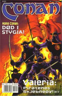 Cover Thumbnail for Conan (Bladkompaniet / Schibsted, 1990 series) #1/2003