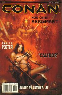 Cover Thumbnail for Conan (Bladkompaniet / Schibsted, 1990 series) #5/2003