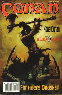 Cover Thumbnail for Conan (Bladkompaniet / Schibsted, 1990 series) #4/2002