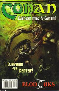 Cover Thumbnail for Conan (Bladkompaniet / Schibsted, 1990 series) #5/2002
