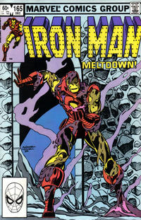Cover for Iron Man (Marvel, 1968 series) #165 [Direct Edition]
